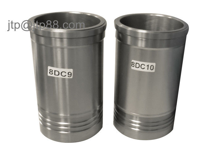 Auto Parts Engine Cylinder Liner , Steel Cylinder Liners 8DC10-DC Dia 138mm
